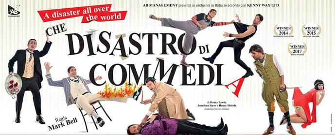 Che Disastro di Commedia - Teatro Leonardo