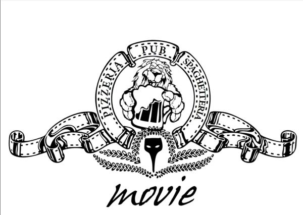 Movie pizzeria pub spaghetteria