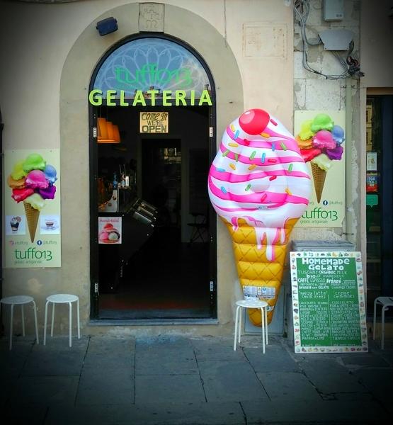 Gelateria Tuffo 13 a Pisa